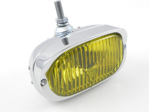 (New) Hella 128 Fog Light with Yellow Lens - 1960-68