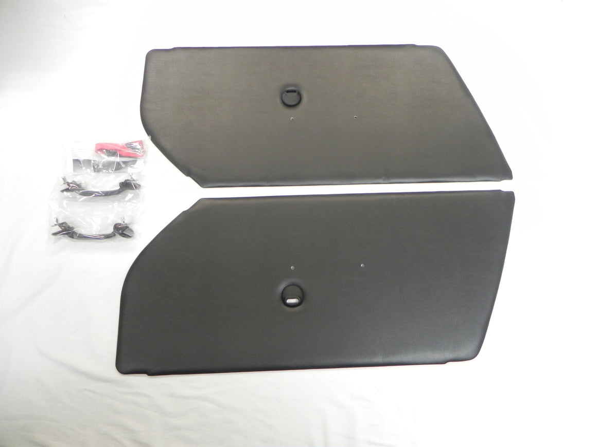 (New) 911/912 RSA-Style Door Panel Set w/ Hardware Kit - 1965-73