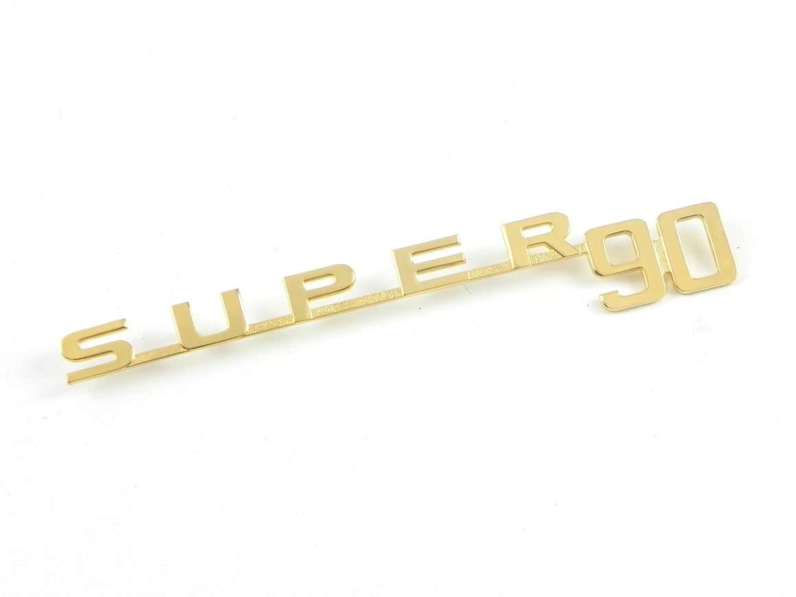 "(New) 356 BT5 Gold ""Super 90"" Script - 1959-61"