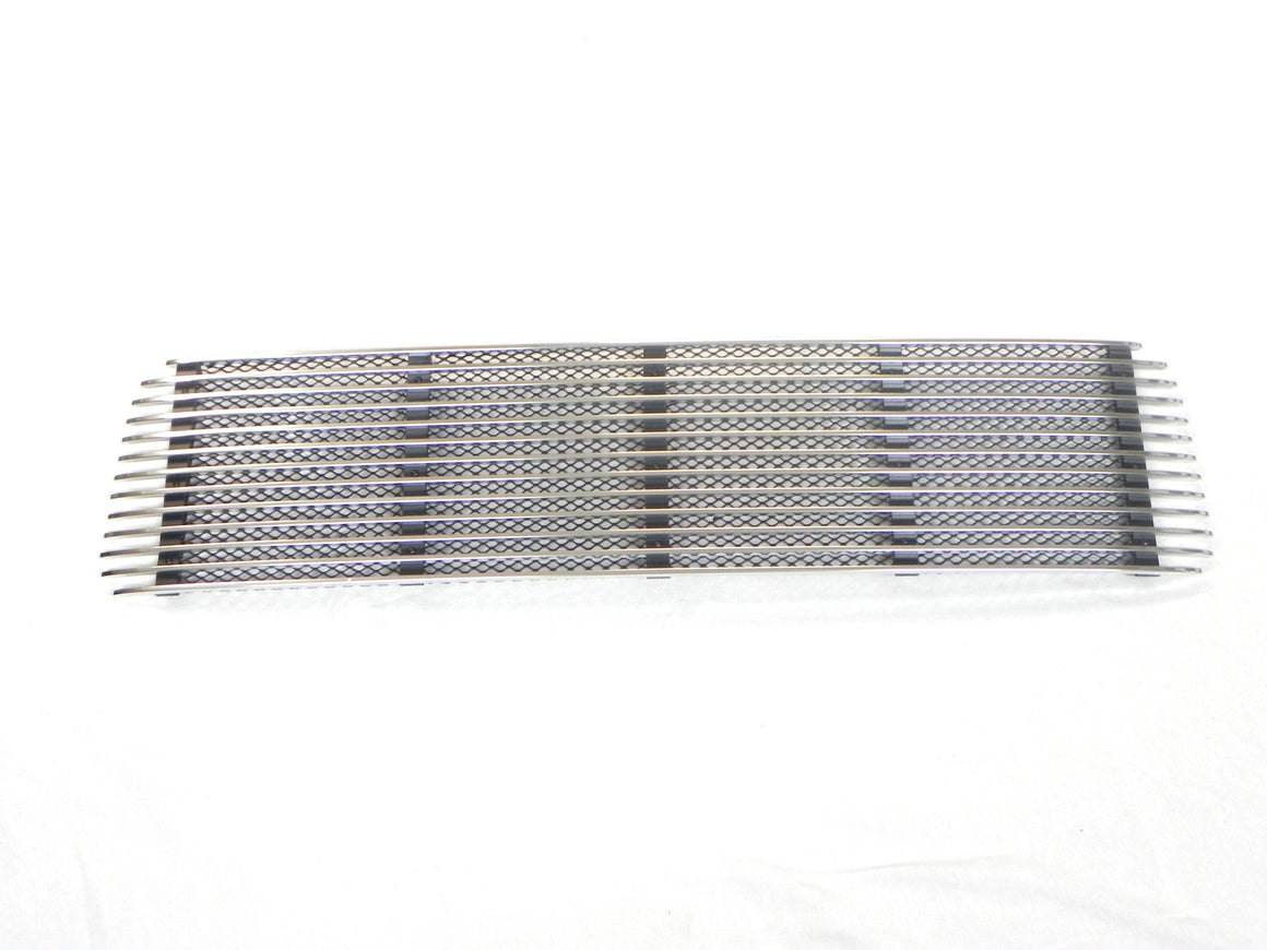 (New) 911 Porsche Silver 5 Bar Engine Lid Grille - 1969-71