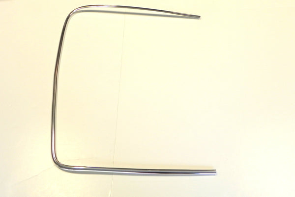 (New) 911 Rear Left Chrome Windshield Trim - 1965-77