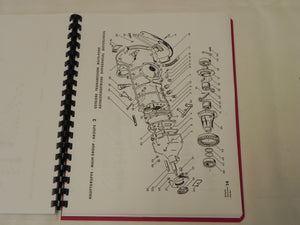 (New) 356 Pre-A Exploded View Parts Diagram Booklet - 1950- 55