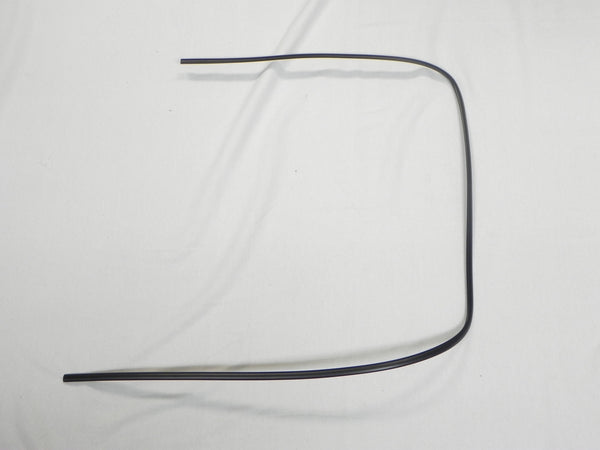 (New) 911 Right Front Black Windshield Trim - 1974-89