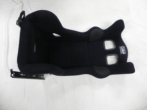 (New) OMP HTE XL Carbon Lightweight Race Seat w/ Mount Assembly