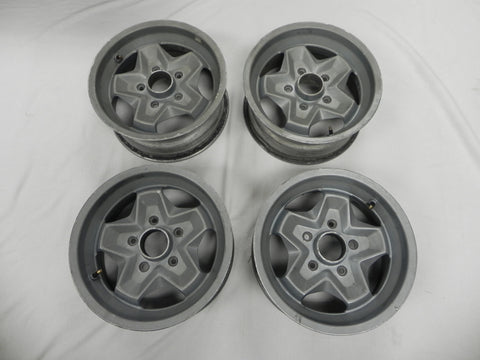(Used) Set of 7j x 15 Cookie Cutter Wheels - 1974-83