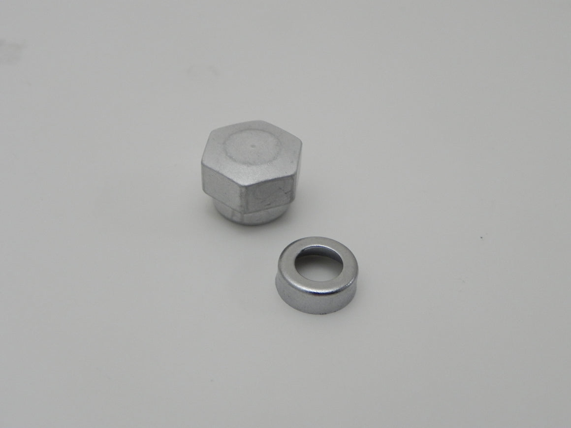 (New) 356 Wiper Post Cap + Wiper Arm Nut - 1960-65