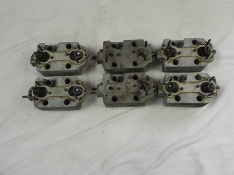 (Used) 911 T/E Set of Cylinder Heads - 1970-73
