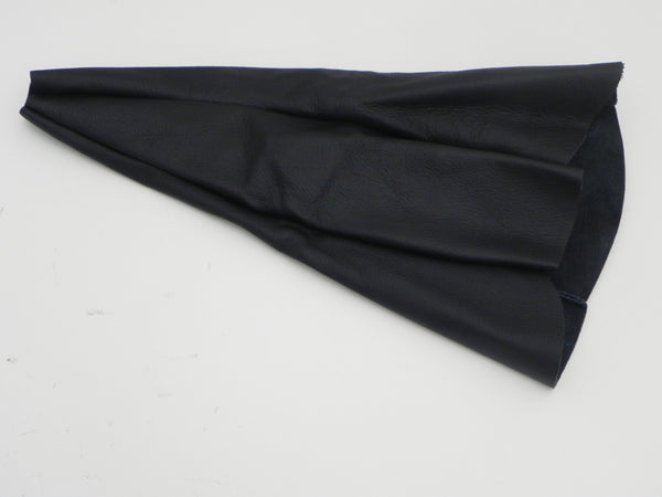(New) 911 Black Leather Shift Boot Cover 1965-89