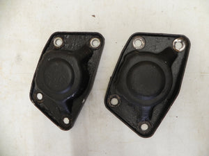 (Used) 356C Rear Torsion Bar End Cover Pair - 1964-65