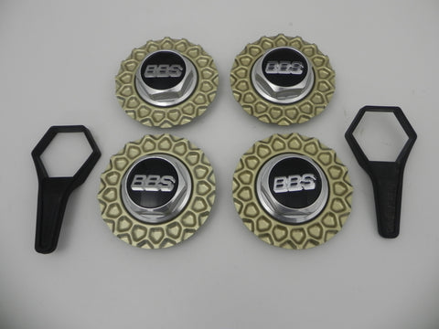 "(Used) BBS RS 6.75"" Center Hub Cap Set"