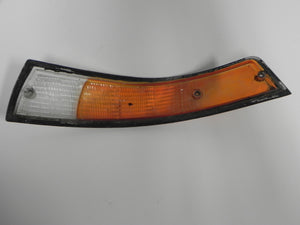 (Used) 911 European Right Front Turn Signal Lens with Black Trim - 1973