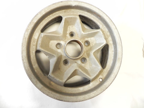 (Used) 911 Light Alloy Wheel 6j x 15 Cookie Cutter Style - 1974-83