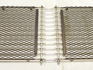 (Used) 911/912 Original Early 6 Bar Aluminum Engine Grille - 1964-68