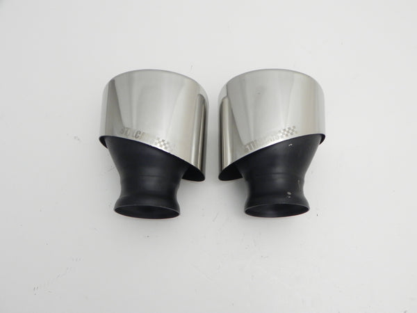 (New) 993 Pair of Short Stainless Steel Exhaust Tips - 1994-98