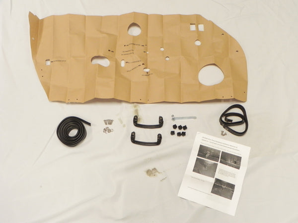 (New) 911/912/930/964/993 RS/RSR Pair of Door Panel Do-it-Yourself Hardware Kit - 1965-98