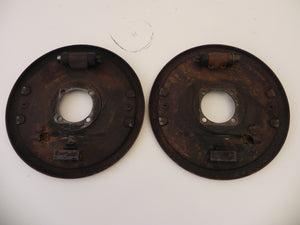 (Used) 356 Rear Brake Mounting Plates - 1956-59