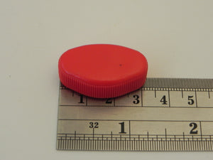 (New) 911/930 Red Knob for Heater Vent - 1984-89