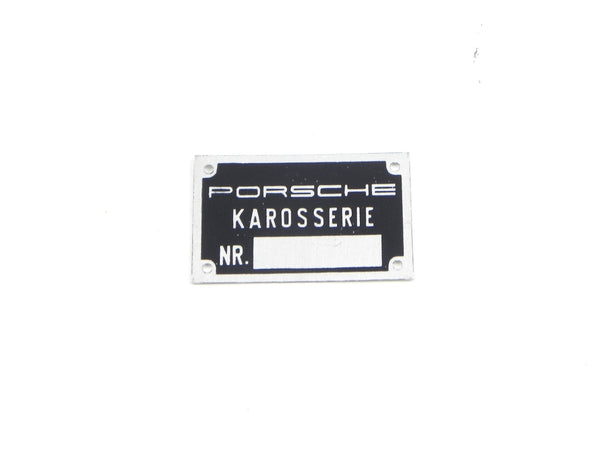 (NOS) 356/911 Porsche Karosserie Paint Badge - 1960-73