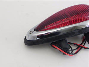 (New) 356 A/B/C Right Rear Red Teardrop Taillight Assembly - 1955-65