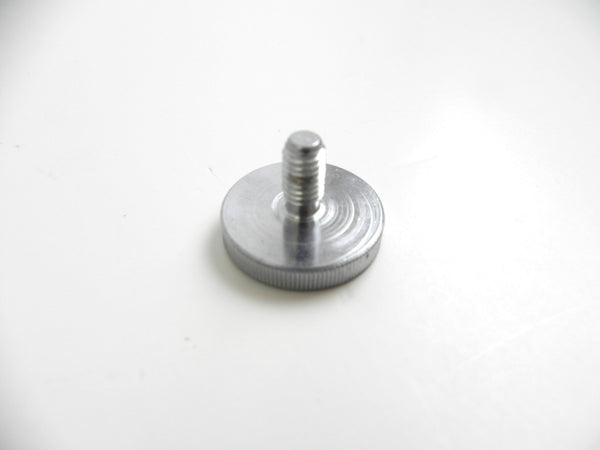 (New) 356/911 Optional Knurled Seat Headrest Knob Stainless - 1955-66
