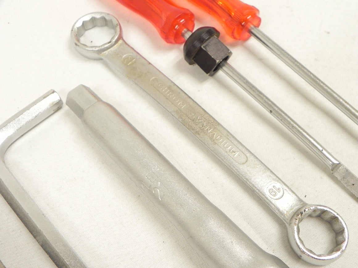 (Used) Original Back Up Light Chrome Bezel