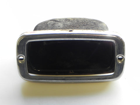 (Used) Back Up Light Housing and Chrome Bezel