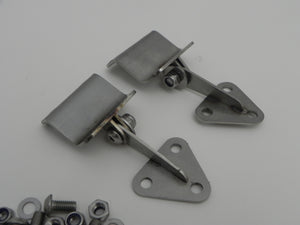 (New) 911R Lightweight Engine Lid Hinge Set w/ Hardware - 1967