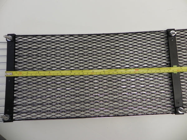 (New) 911 or 912 Silver 3 Bar Engine Lid Grille - 1969