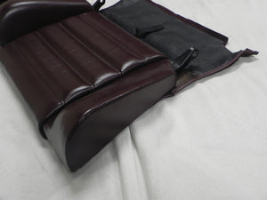 (Used) 911/930 Carrera Pair of Burgundy Rear Jump Seat Tops