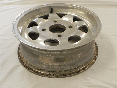 Aluminium Mag Wheel  8 Spoke 5.5x15 4 Lug   914 / VW  4 Lug
