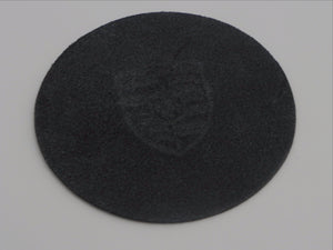 (New) 911/912 Hockey Puck Horn Button Leather Patch - 1965-68