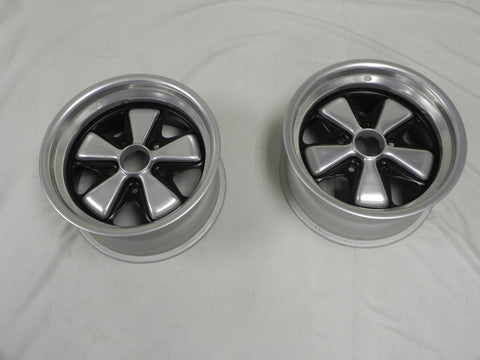 (Refinished) 911/930 Pair of Refinished Fuchs Wheels 8j x 15 - 1974-89