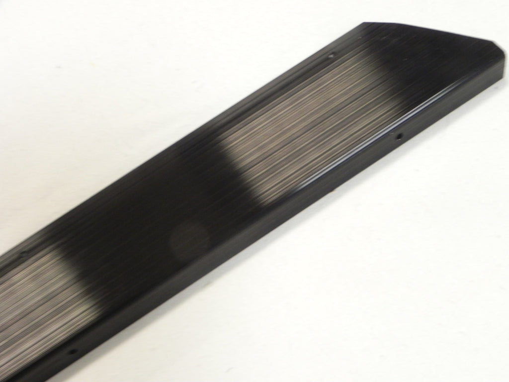 New 911 912 930 Right Black Aluminum Door Step Threshold