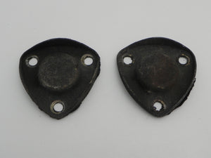 (Used) 911/912 Pair Front Stabilizer Bar Delete Plate - 1965-73