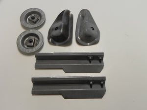 (New) 356 BT6/C Set of Front and Rear Seat Mounts - 1961-65