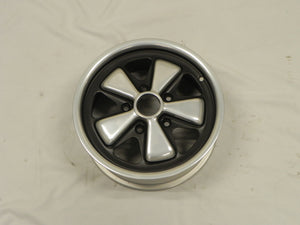 (Refinished) Early 6j x 15 Forged Alloy Flat Six Fuchs Wheels 9/72 - 1965-89