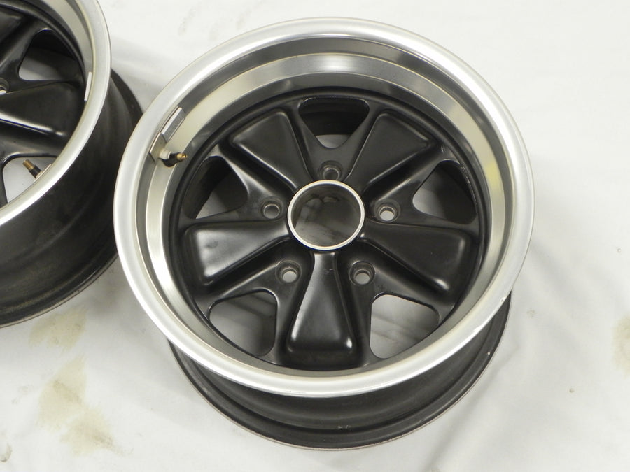 (Original) 911/930 Pair of Refinished Fuchs Wheels 8j x 15 - 1974-89