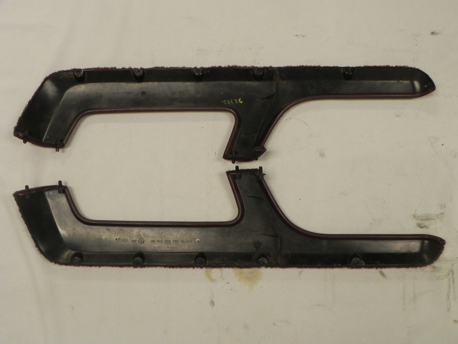 (Used) 944 Door Shelf Pair Burgundy 1986-91