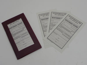 (New) 911 T/E/S & 912 English Maintenance Manual and Insert Papers - 1965-69