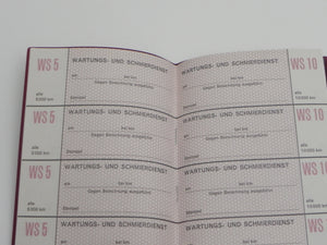 (New) 911 T/E/S & 912 German Maintenance Manual and Insert Papers - 1965-69