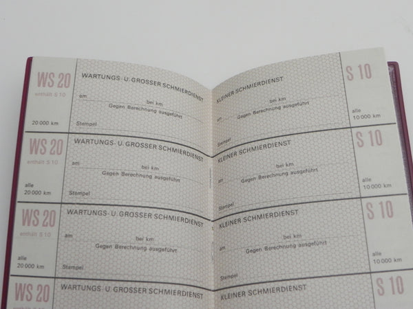 (New) 911 T/E/S & 914-6 German Maintenance Manual and Insert Papers - 1969-72