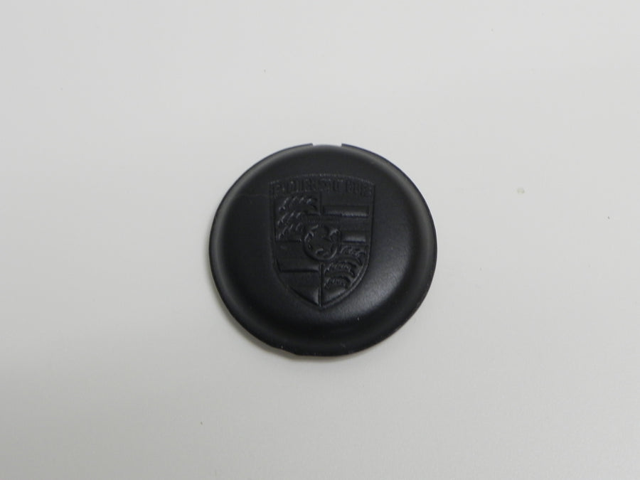 (New) MoMo Steering Wheel Leather Embossed Porsche Crest Horn Button