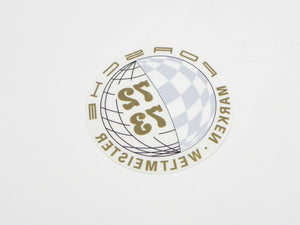 (New) 911 Marken Weltmeister Decal - 1972-73