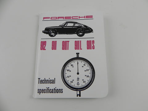 (New) 911/912 Technical Specifications Pocket Book