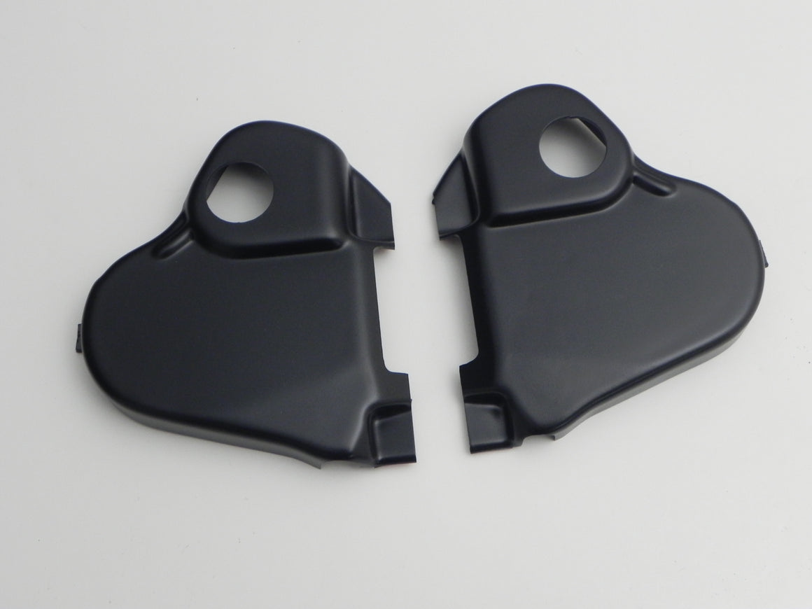 (New) 911/912 Driver's Seat Reclining Mechanism Cover Set - 1969-73
