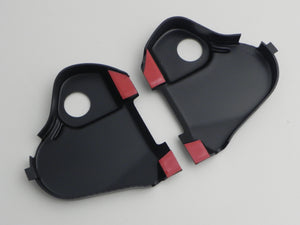 (New) 911 Driver's Seat Reclining Mechanism Cover Set - 1974-76