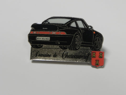 Collector Pin - 911 Turbo - Domaine de Chateauneuf