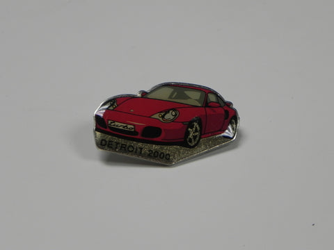 Collector Pin - 911 Turbo Detroit - 2000