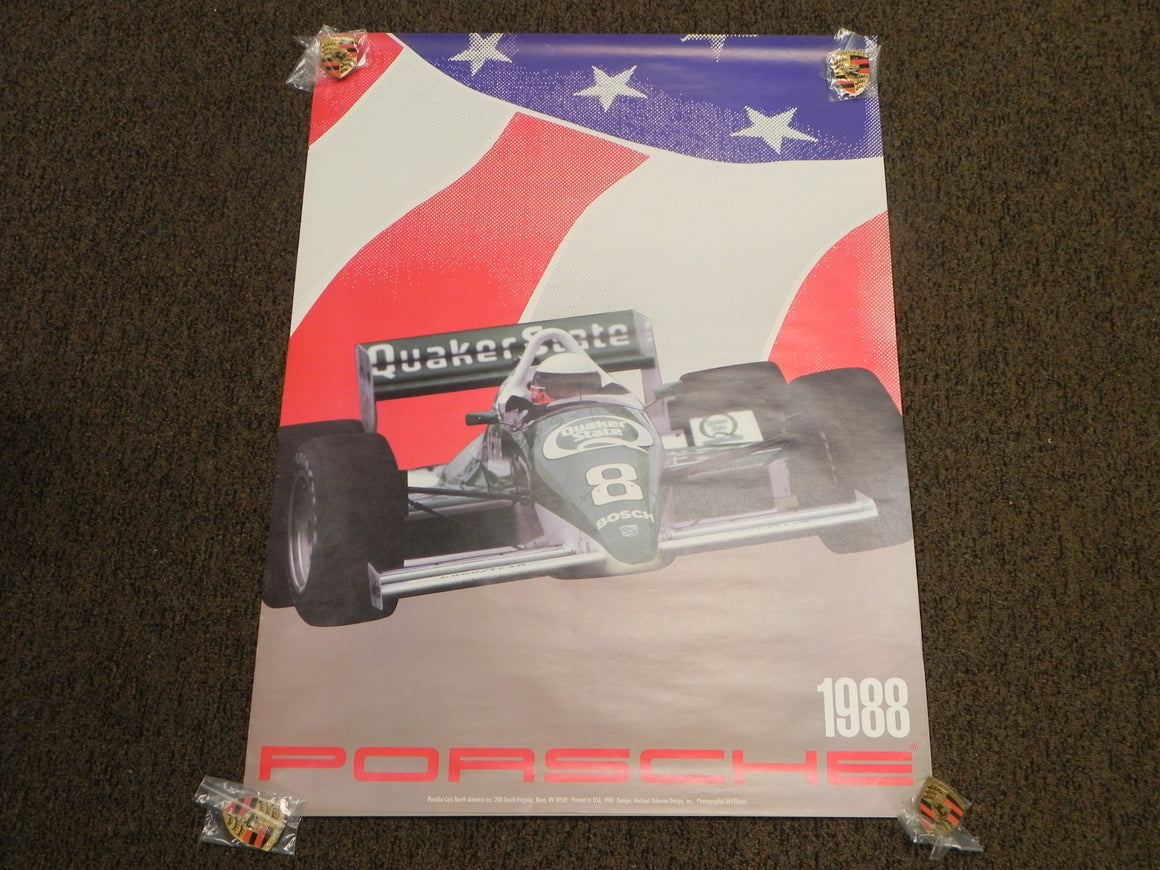 1988 Quaker State Indy Poster