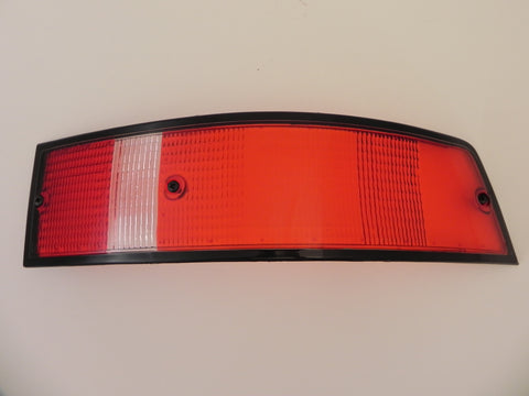 (New) 911 Porsche Right Side USA Tail Light Lens with Black Trim - 1973-89